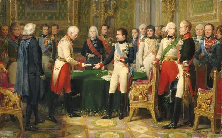 Congreso Erfurt Napoleon Bonaparte