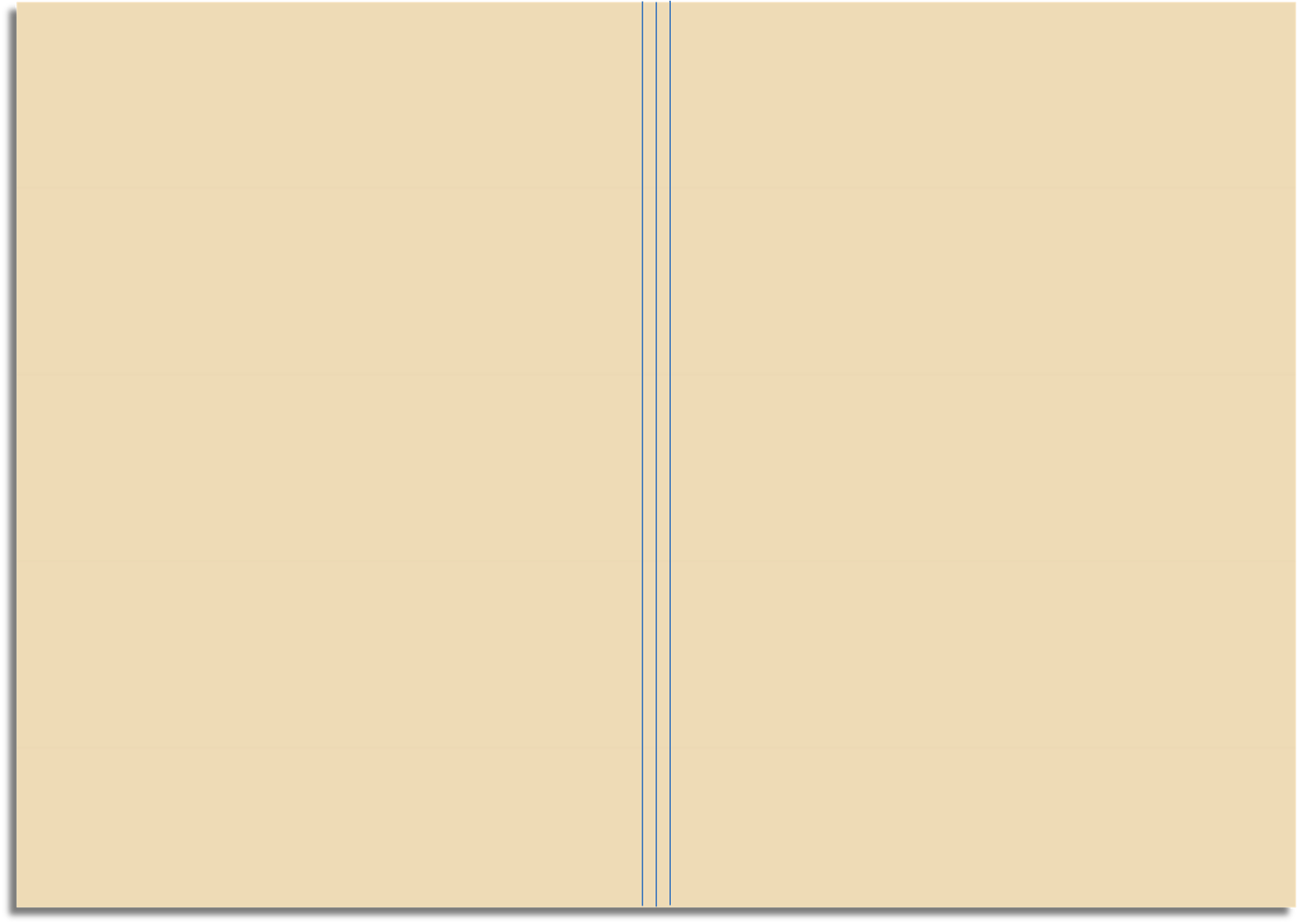 Drawing Vertical Lines In Html : My life all in one place diy field notes size kraft file