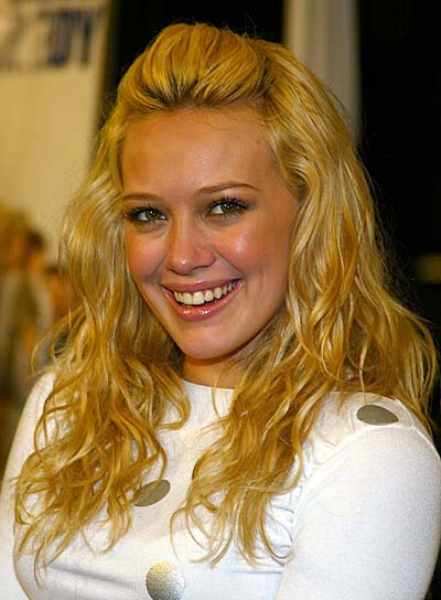 celebrity hilary duff hairstyle