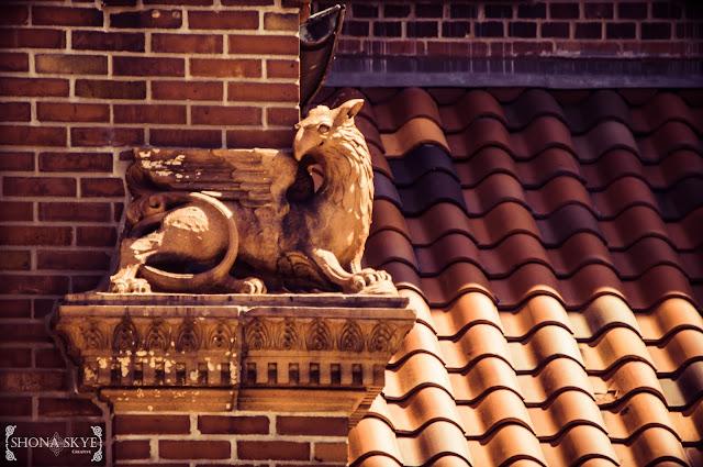 Gargoyle, Gargoyles, St. George Catholic Church, St. Louis, MO, Missouri
