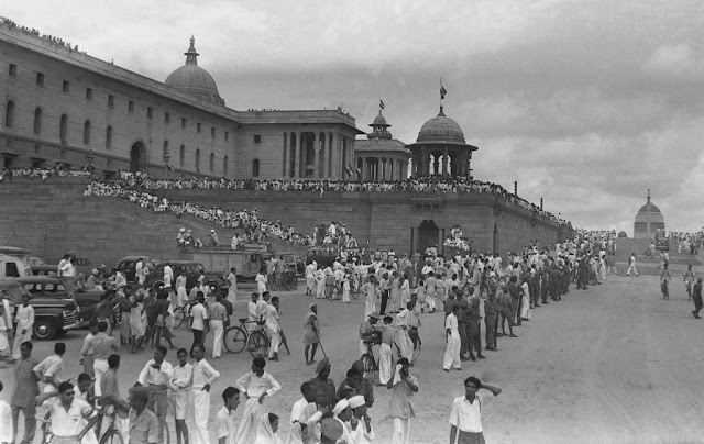 rare photo of indian independence