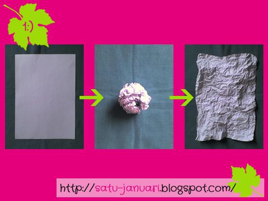 Step 1 CM Membuat Kertas Tekstur