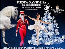 """FIESTA NAVIDEÑA Y SHOW DE ARTE ECUESTRE """"CASCANUECES A CABALLO"""""""