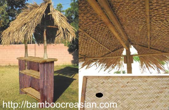 Quality Bamboo and Asian Thatch Tiki Bars and Huts Bamboo2013