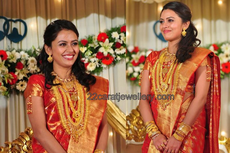 Dhanya Mary Traditional Wedding Jewelry - Jewellery Designs