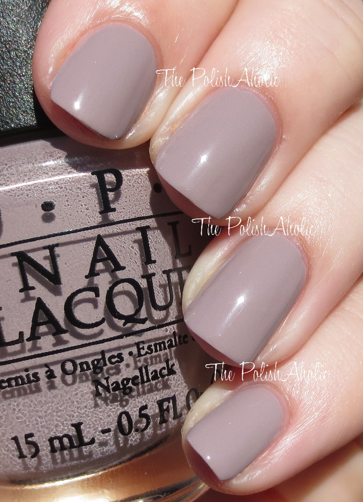Opi Nail Polish Over The Taupe