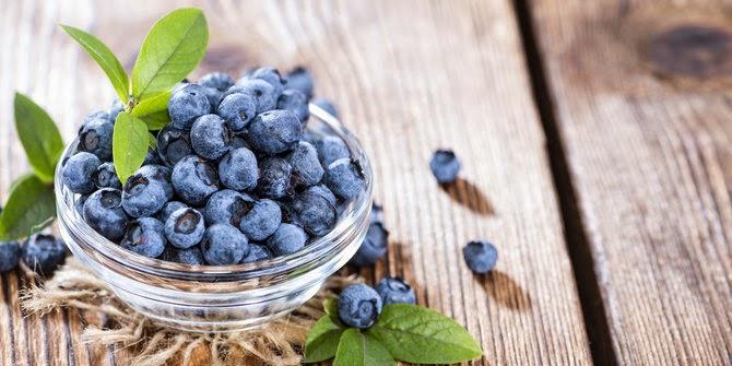 Buah Blue Berry