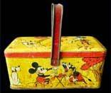Boite Panier Mickey