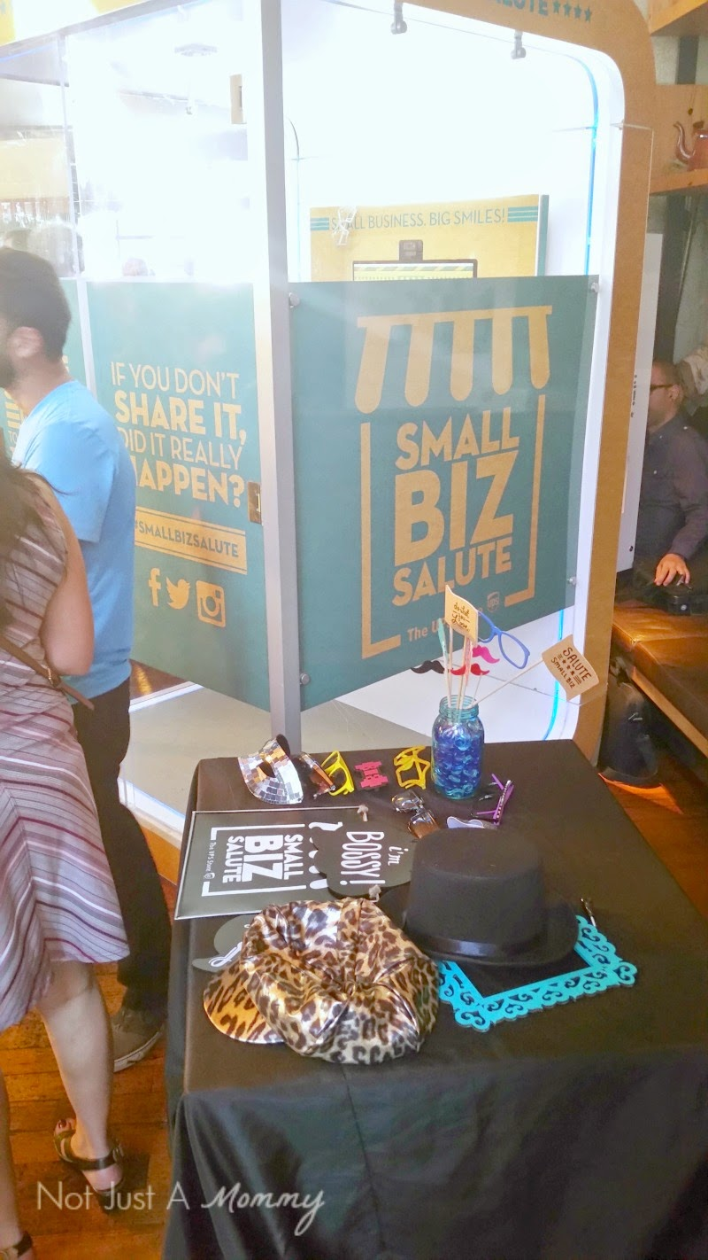 The UPS Store Celebrates National Small Business Week SocialBox photo booth
