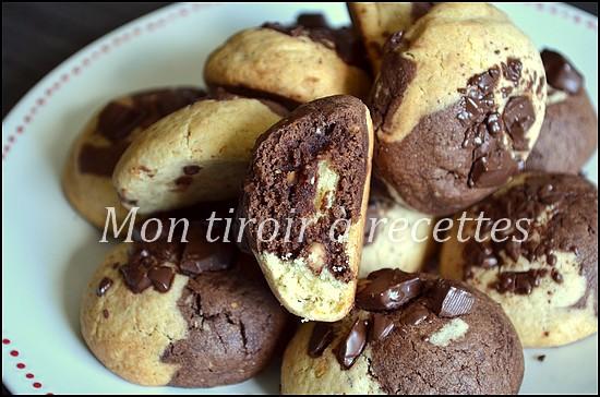 cookies marbrés