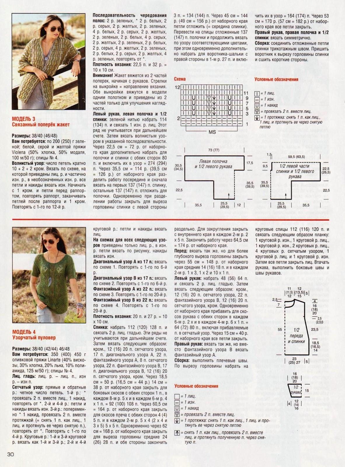 Вязание спицами кофточка журнал сабрина