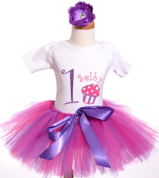kalliopelp: Vestidos para la primera Fiesta de Cumpleaños de tu Bebe