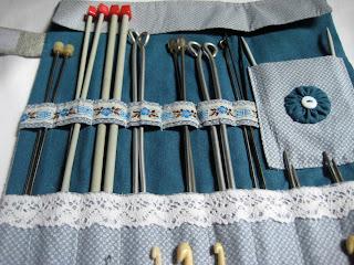 Органайзер для спиц и крючков