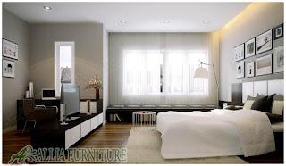 Ruangan model minimalis modern lengkap