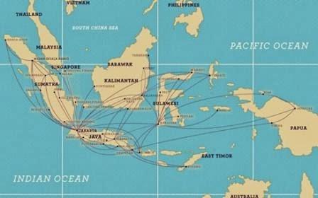 informasi daftar rute penerbangan domestik garuda Indonesia air line