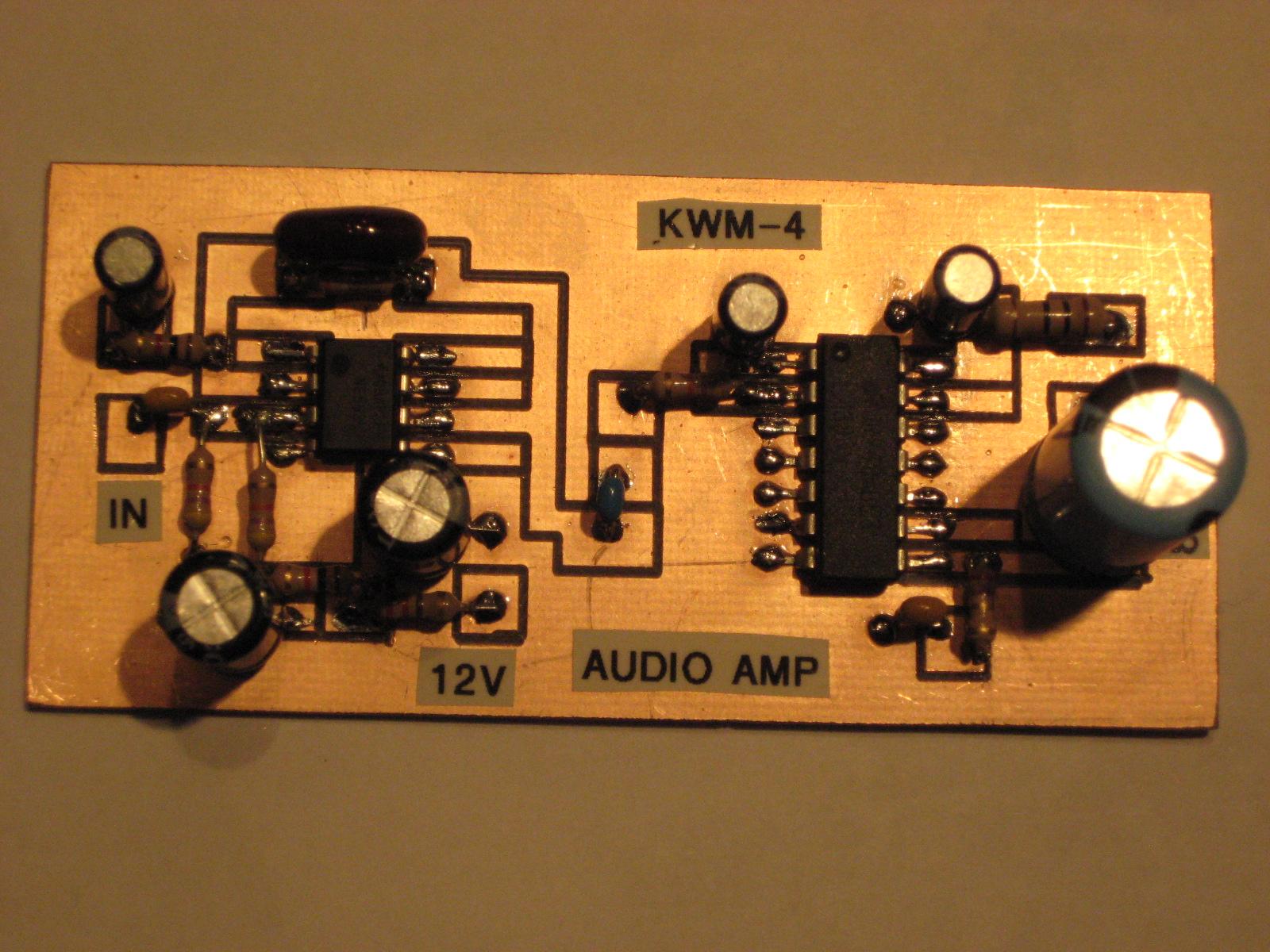 N6qw Simpleceiver Part 4 Lm380 Audio Amplifier Circuit Get Electronics Pete