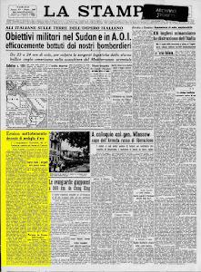LA STAMPA 26 MAGGIO 1943