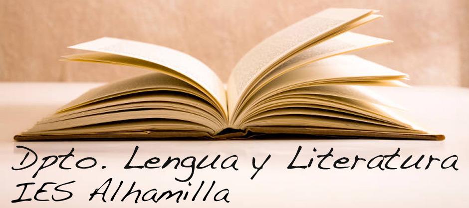 Blog Dpto. Lengua y Literatura IES Alhamilla