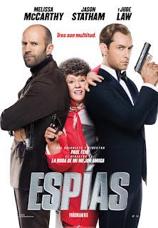 Espías: Una espía despistada (2015)