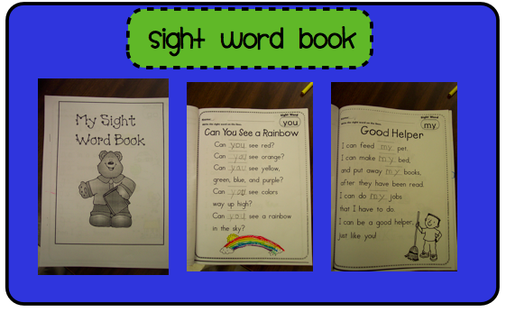Sight books and  am Family sight word Books Kinderdi: Word Word
