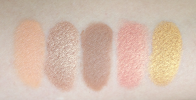 Smashbox Heat Wave Eyeshadow Palette Summer 2013 swatches