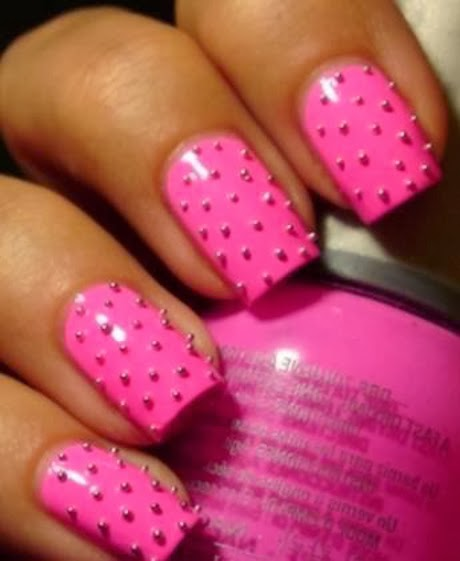 Adorable, Pink Nails, Love It