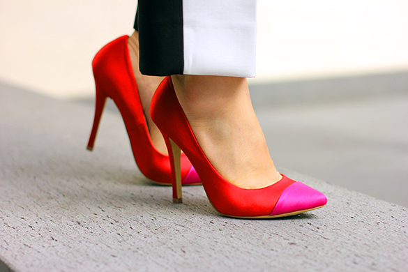 Shoe Mint Red Pumps