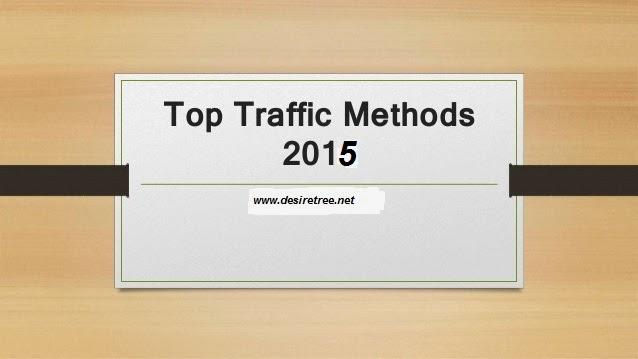 Free traffic methods 2015