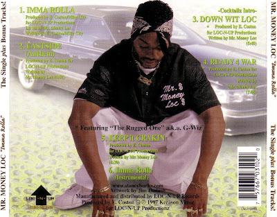 Mr Money Loc – Imma Rolla – CDM – 1997