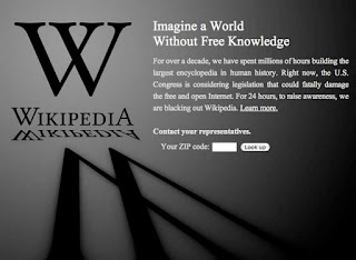 sopa and pipa, wikipedia's blackout, roy blun