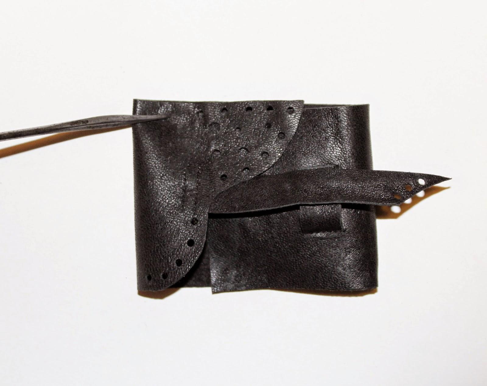 design ekologia, oszczędność materiału, DIy krok po kroku czyli jak uszyc portfel