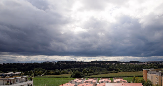 Clouds rolling in - Bietigheim-Bissingen, Germany