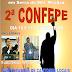 2ª CONFEPE NOS DIAS 16 E 17 DE FEVEREIRO CONFIRA A PROGRAMAÇÃO