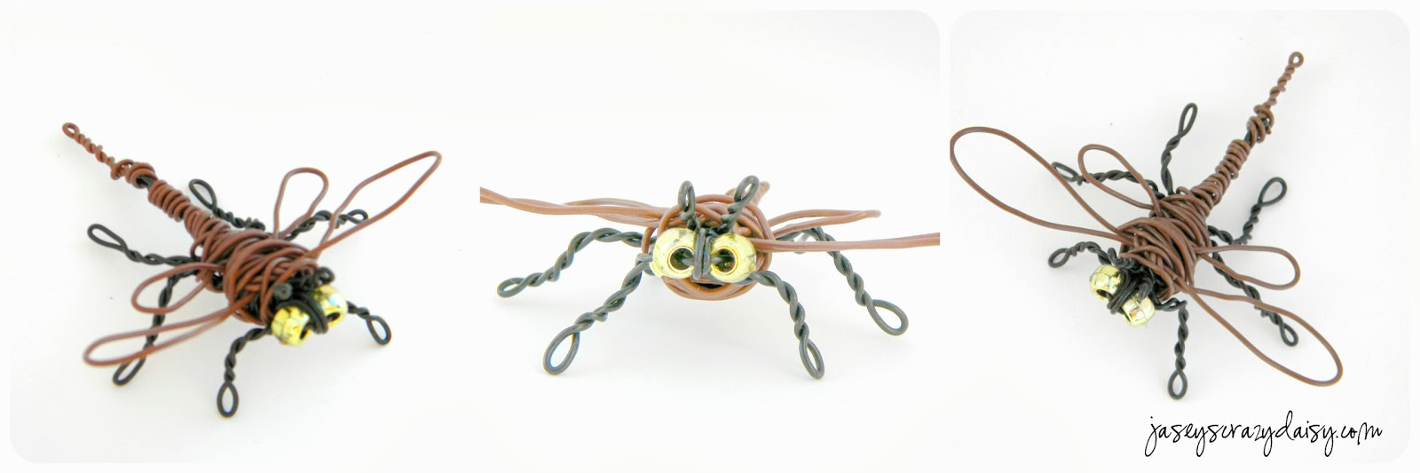 Art project for kids wire sculptures with twisteez wire for Very simple wire craft projects