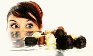 لا تضعي الحلويات امامك ولا تشتهيها