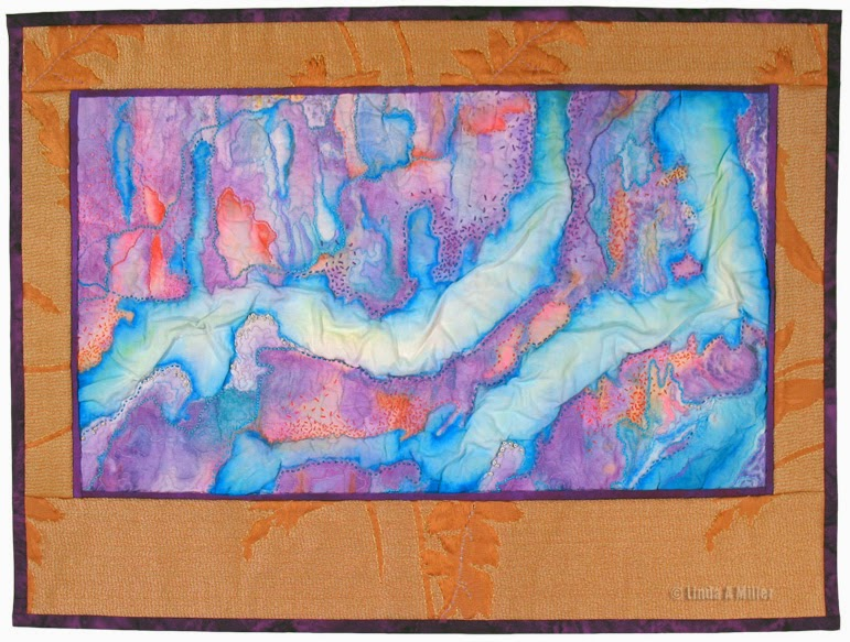 "In Flux   -  16.5"" x 22.5"" © 2014 Linda A. Miller"