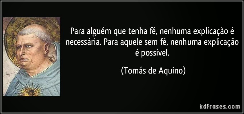 Blog Do Ilivaldo Duarte Frases De São Tomas De Aquino