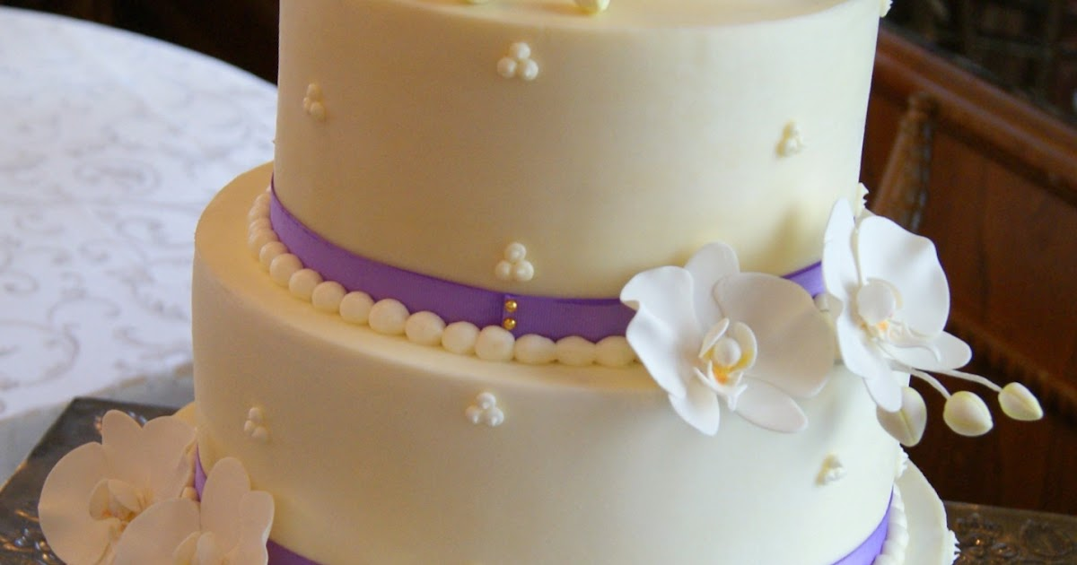 Be Nourished Now Inc Wellness Inside And Out Buttercream And Orchids Wedding Cake Splendor