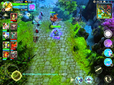 Heroes Of Order & Chaos v2.0.1e MOD APK+DATA