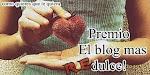 Pilar que premio más lindo ♥¡Muchísimas gracias por pensar en mi!!!!