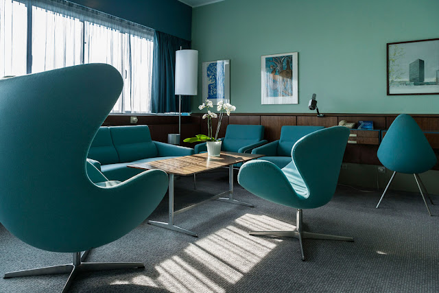 Arne Jacobsen Suite, in the Radisson SAS Royal Hotel in Copenhagen