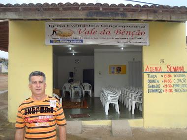 Pr. Sandro Marques Monteiro.