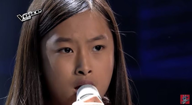 Kiyana Bongat belts out Bruno Mars hit on 'The Voice Kids'