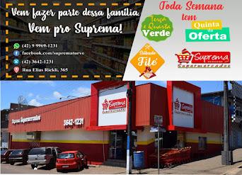 Compre no Supermercado Suprema de Turvo