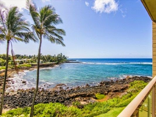 Kauai Oceanfront Condo For Sale