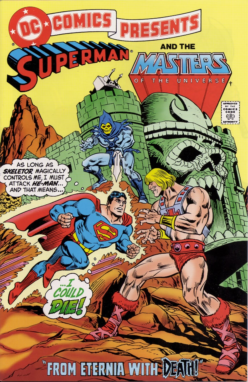 The Dork Review: Superman VS He-Man