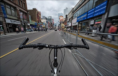 biking in toronto by personal trainer in toronto