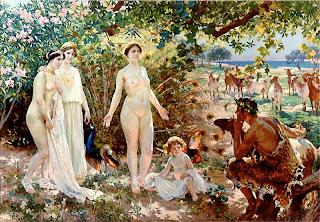 Aphrodite and Paris