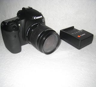Kamera DSLR Canon 60D Bekas + Lensa Canon 18-55mm