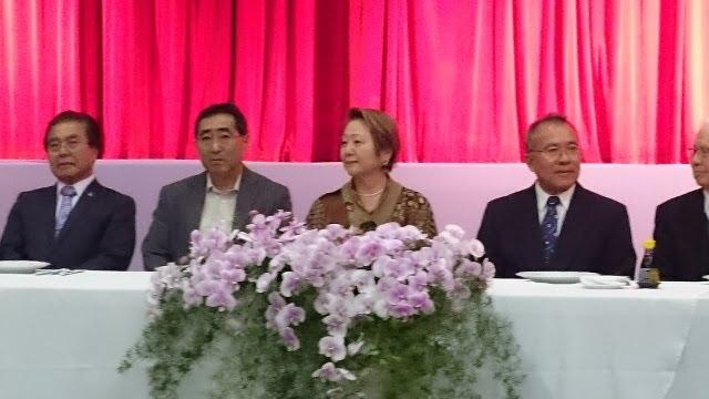 JANTAR em HOMENAGEM à HARUMI GOYA - Presidente do BUNKYO